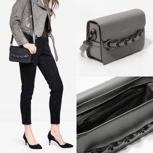 Charles & Keith Bags - Charles & Keith Bullet Chain Clutch/Crossbody